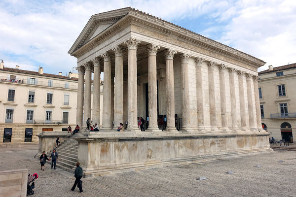 Maison Carrée, Nîmes, France