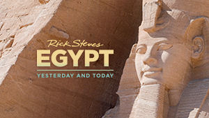 Rick Steves Egypt: Yesterday and Today title
