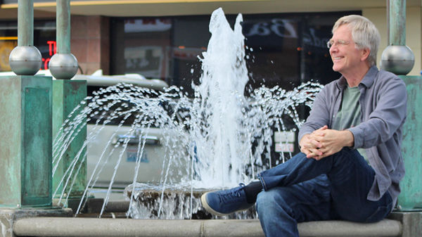Rick in downtown Edmonds, Washington