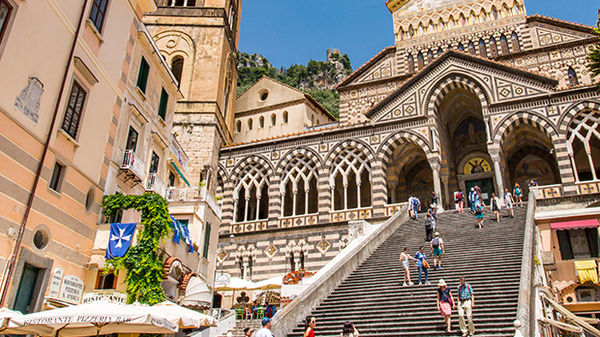 Cathedral of St. Andrew, Amalfi Town, Italy