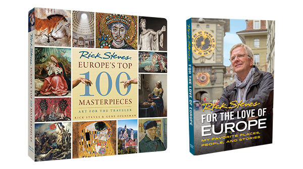 Top Masterpieces and For the Love of Europe books