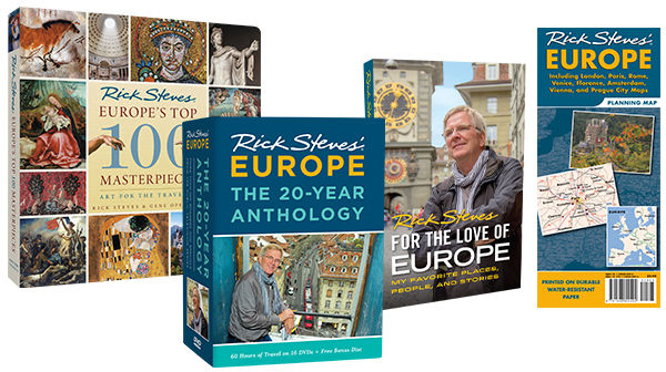 Top 100 Masterpieces, For the Love of Europe, 20-Year Anthology, Europe Planning Map
