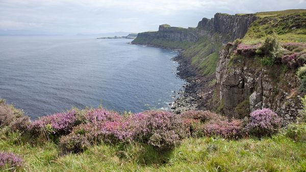 The Trotternish Peninsula on the Isle of Skye