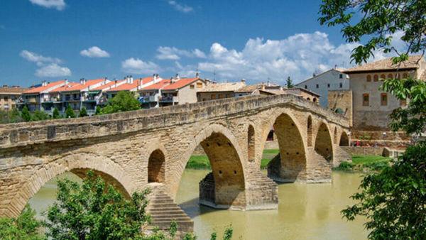 Puente de la Reina, Camino de Santiago, Spain