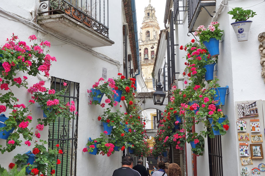 Back streets of Córdoba, Spain