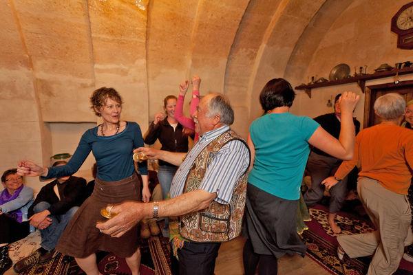 Dancing in Cappadocia, Turkey