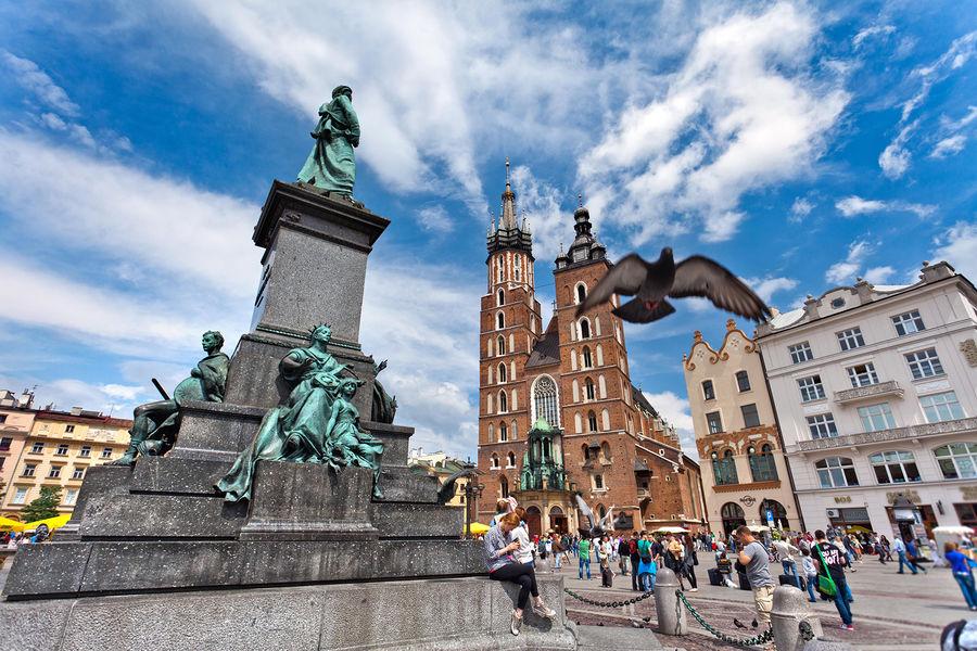 Main Market Square, Kraków, Poland