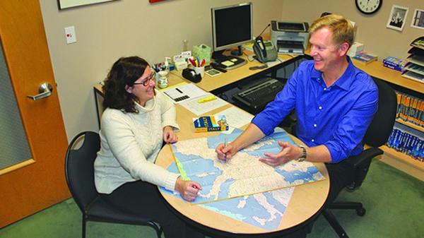 Trip consulting at Rick Steves' Europe, Edmonds, WA