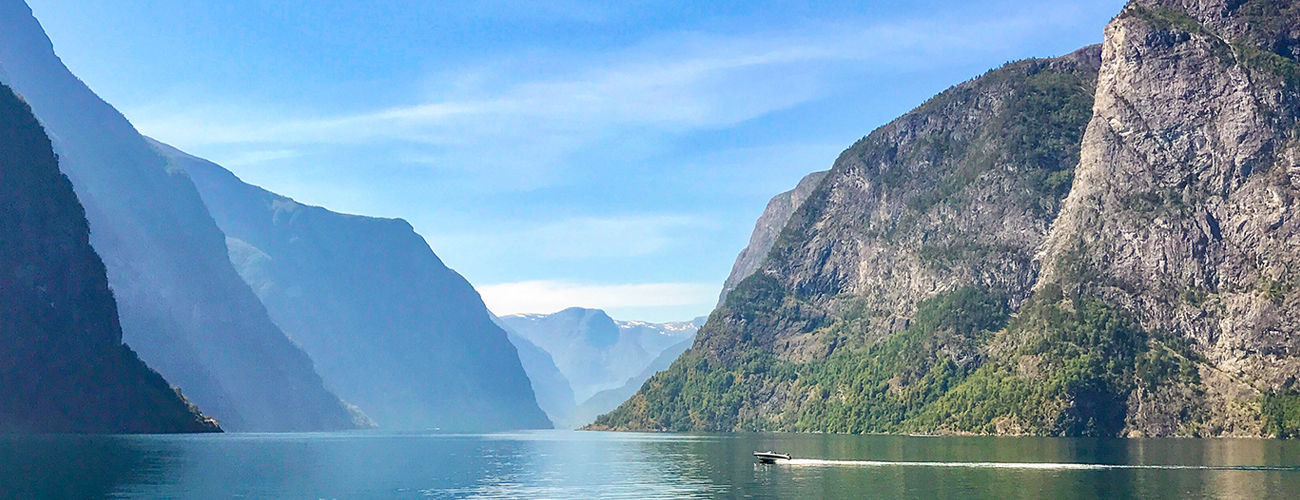 Sognefjord cliffs, Norway