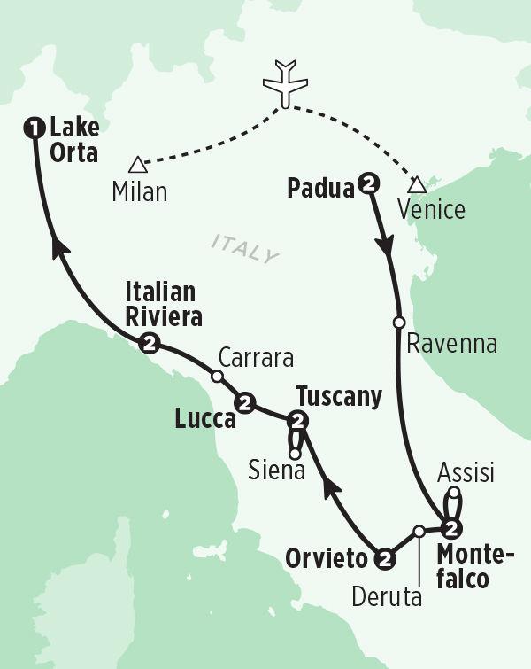Rick Steves Village Italy tour 2022
