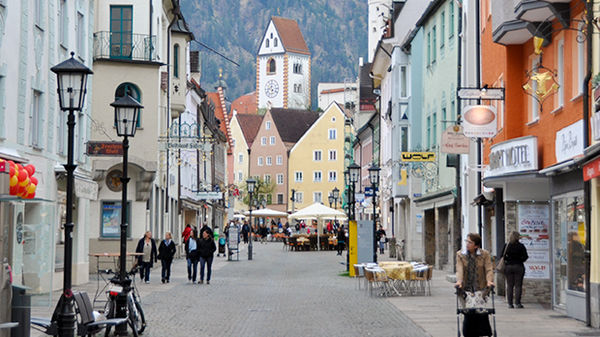 Füssen, Bavaria, Germany