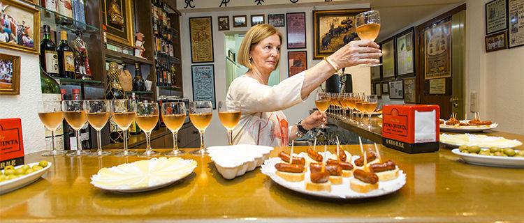 Tapas bar in Pamplona, Spain