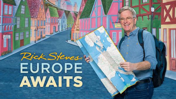 Rick Steves Europe Awaits title screen