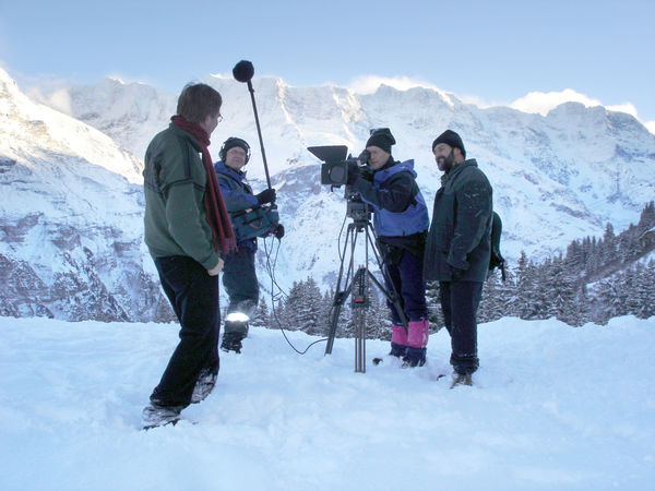 Rick Steves' European film crew