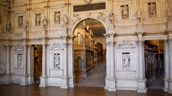 Palladio's Olympic Theater, Vicenza, Italy