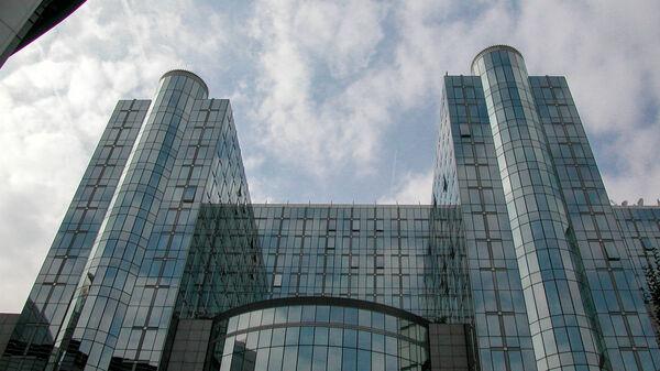 Skyscrapers in Brussels, Belgium