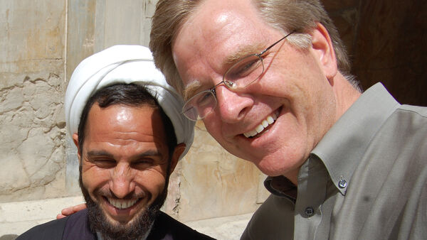 Rick and a cleric, Iran