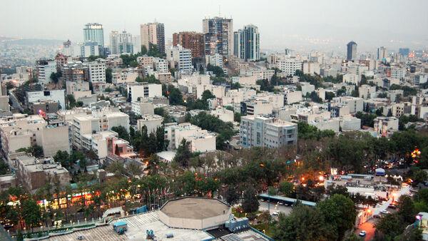 Skyline view of Tehran, Iran