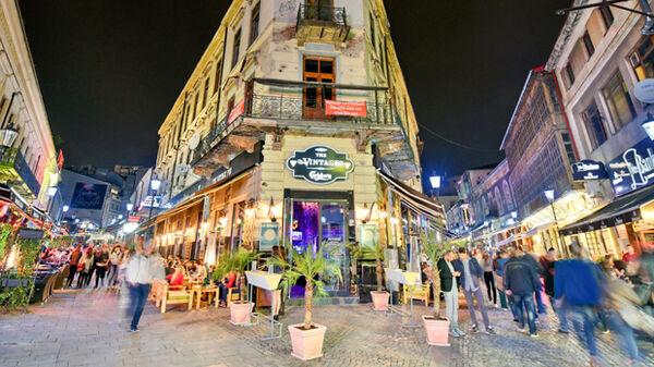 Nightlife in Bucharest, Romania