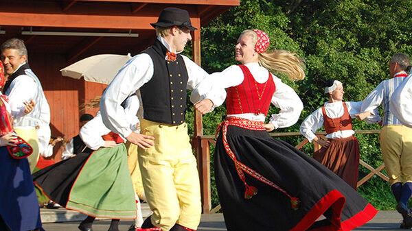 Swedish dancers