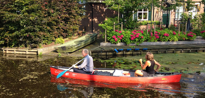 Canoes in the Netherlands