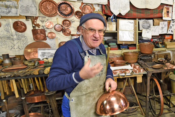 Coppersmith, Montepulciano, Italy