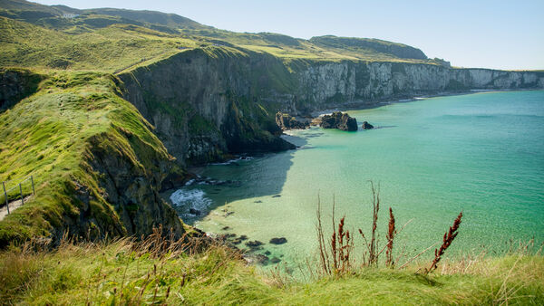 Cliffs near Portrush in Northern Ireland