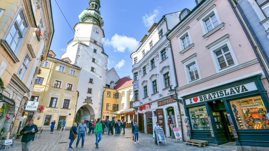 St. Michael's Gate, Bratislava, Slovakia