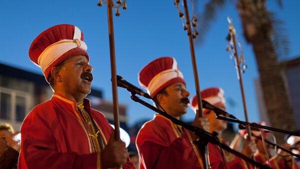 Musicians in Antalya, Turkey