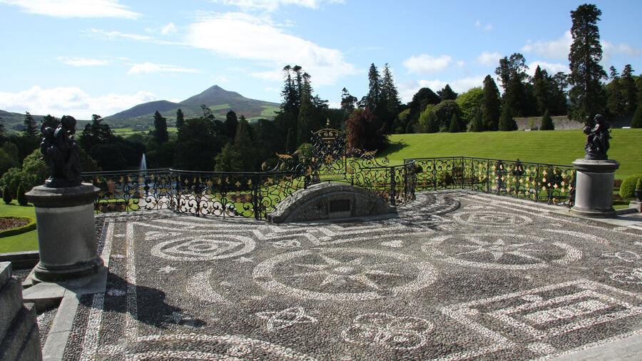 Powerscourt Estate Gardens, County Wicklow, Ireland