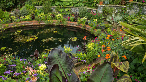 Bodnant Garden, south of Conwy, Wales