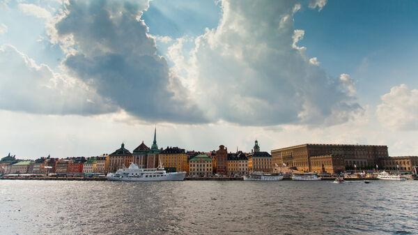 Harbor at Stockholm, Sweden