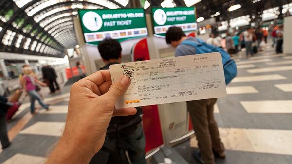 Milan train ticket