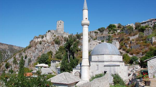Mosque, Pocitelj, Bosnia-Herzegovina