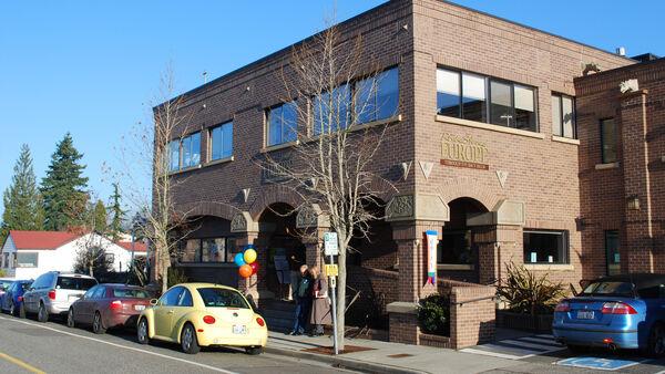 Rick Steves' Europe office building in Edmonds, Washington