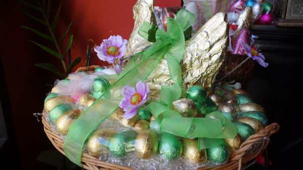 Easter basket, Rome, Italy