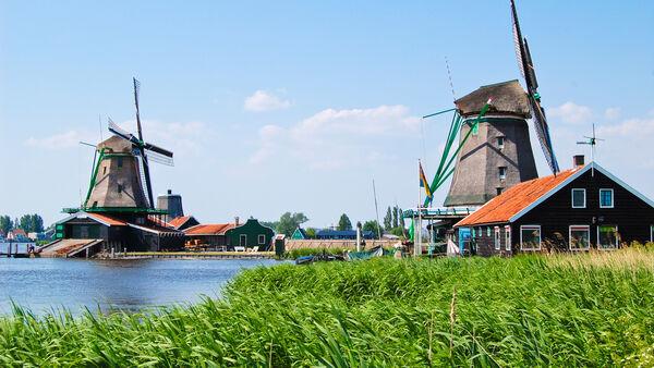 Zaanse Schans Folk Museum, Netherlands
