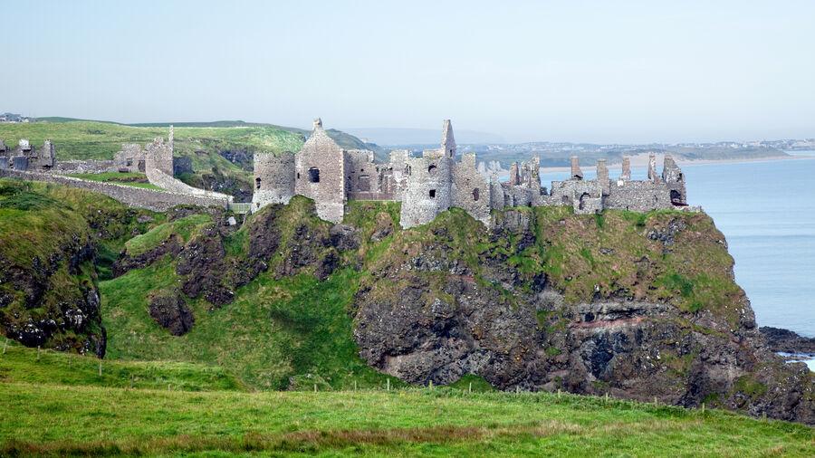 Dunluce Castle, Antrim Coast, Northern Ireland