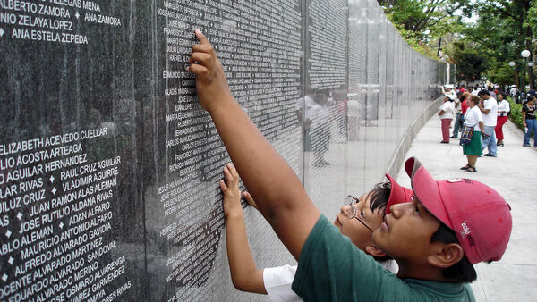 War memorial in El Salvador