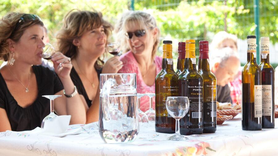 Port wine tasting, Douro Valley, Portugal