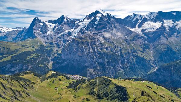 Alps, Berner Oberland, Switzerland