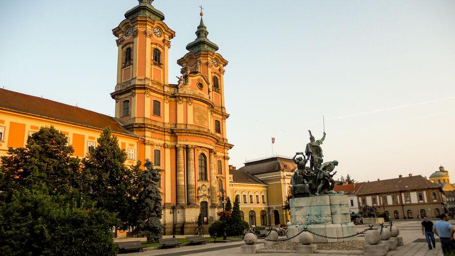 Minorite Church, Eger, Hungary