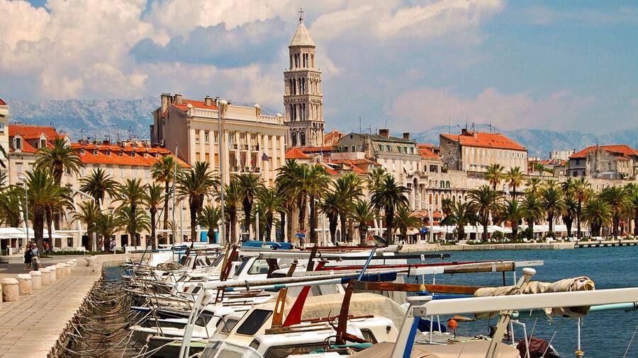 City Harbor, Split, Croatia