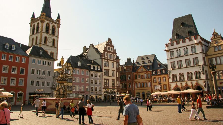 Market Square, Trier, Germany