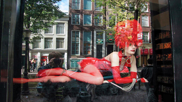 Mannequin in the Red Light District, Amsterdam, Netherlands