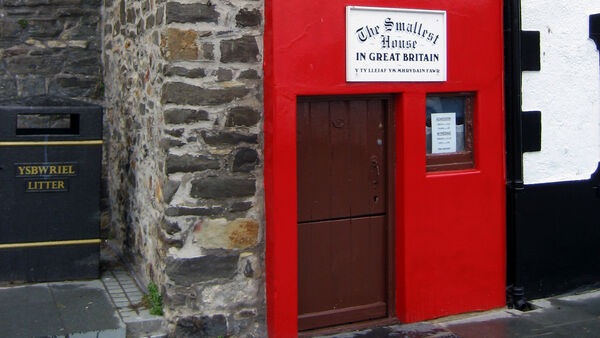 Smallest House in Great Britain, Conwy, Wales