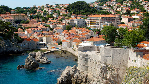 Old Town Fort, Dubrovnik, Croatia