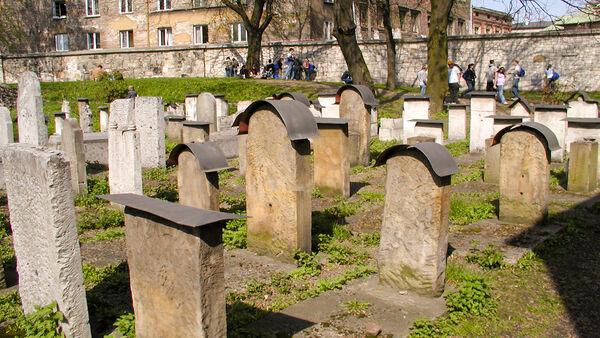 Old Jewish Cemetery, Kazimierz district, Kraków, Poland