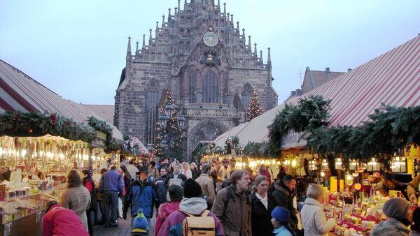 Christmas market, Nürnberg, Germany