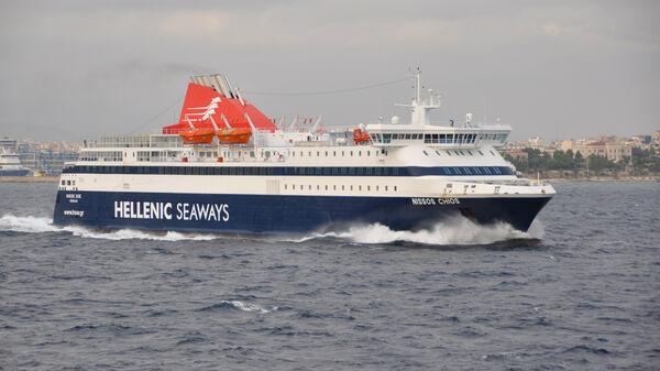 Car ferry, Port of Piraeus, Greece